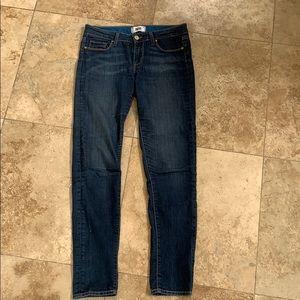 EUC PAIGE Jeans Skyline Skinny Size 28